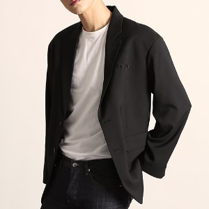[208]OVER FIT BLAZER(BLACK)