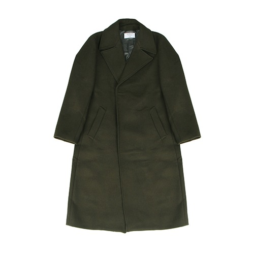 [222] HEAVY WOOL SINGLE COAT (KHAKI)