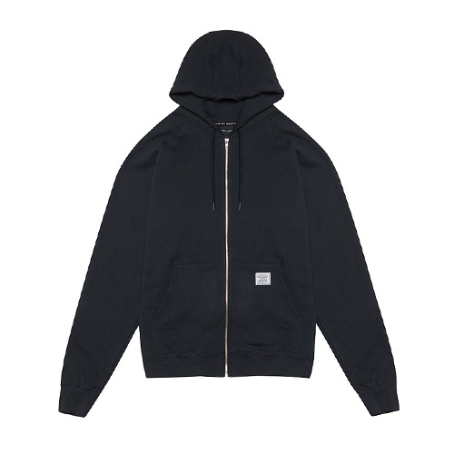 [112]OVER FIT HEAVY ZIP HOODIE(BLACK)
